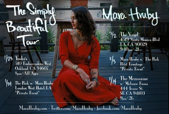 Mara Hruby: The Simply Beautiful Tour